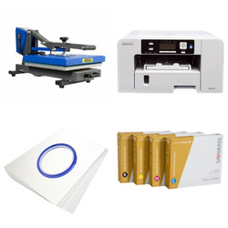Printing kit for T-shirts Sawgrass Virtuoso SG400 + PLUS-PB3838D ChromaBlast