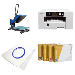 Printing kit for T-shirts Sawgrass Virtuoso SG400 + PLUS-PB3838MD ChromaBlast