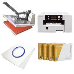 Printing kit for T-shirts Sawgrass Virtuoso SG400 + SB6D ChromaBlast