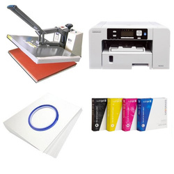 Printing kit for T-shirts Sawgrass Virtuoso SG400 + SB6D Sublimation Thermal Transfer