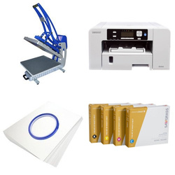 Printing kit for T-shirts Sawgrass Virtuoso SG500 + CLAM-C45 ChromaBlast