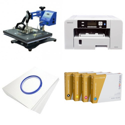 Printing kit for T-shirts Sawgrass Virtuoso SG500 + SD71 ChromaBlast