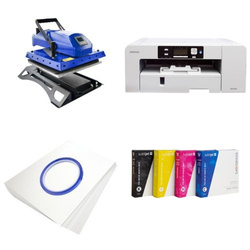 Printing kit for T-shirts Sawgrass Virtuoso SG800 + MATE-Y38 Sublimation Thermal Transfer