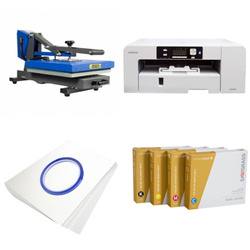 Printing kit for T-shirts Sawgrass Virtuoso SG800 + PLUS-PB4050D ChromaBlast