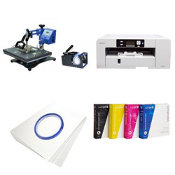 Printing kit multifunctional Sawgrass Virtuoso SG1000 + COMBO1 Sublimation Thermal Transfer