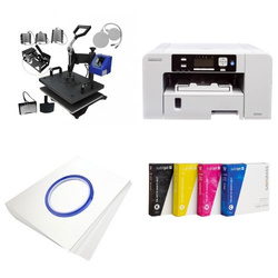 Printing kit multifunctional Sawgrass Virtuoso SG400 + MATE-8IN1-1 Sublimation Thermal Transfer