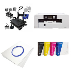 Printing kit multifunctional Sawgrass Virtuoso SG800 + MATE-8IN1-3 Sublimation Thermal Transfer
