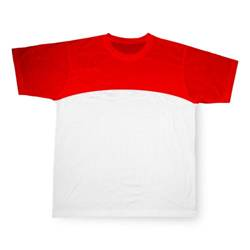 Red Sport Cotton-Touch T-shirt Sublimation Thermal Transfer