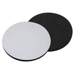 Rubber coaster 5 mm - circle Sublimation Thermal Transfer