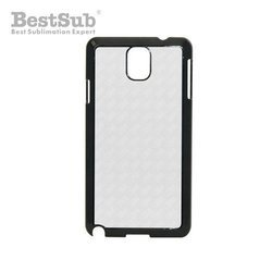 Samsung Galaxy Note 3 case plastic black Sublimation Thermal Transfer