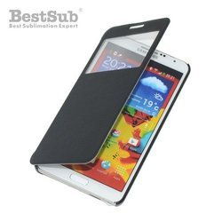 Samsung Galaxy Note 3 openable case black Sublimation Thermal Transfer