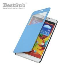 Samsung Galaxy Note 3 openable case blue Sublimation Thermal Transfer