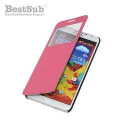 Samsung Galaxy Note 3 openable case pink Sublimation Thermal Transfer