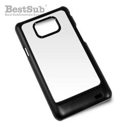 Samsung Galaxy S2 i9100 case plastic black Sublimation Thermal Transfer