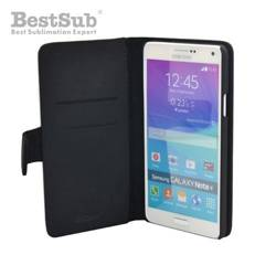 Samsung Note 4 eco leather case black Sublimation Thermal Transfer