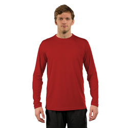 Solar Long Sleeve - Mars Red