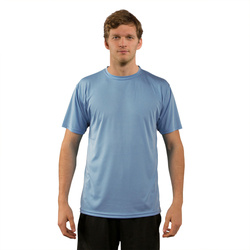 Solar Short Sleeve - Columbia Blue