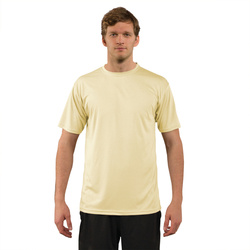Solar Short Sleeve - Pale Yellow