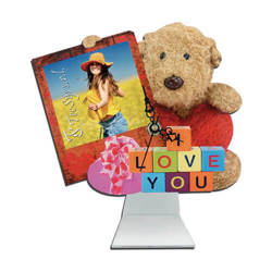 Standing MDF clock for sublimation - Bear