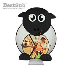 Standing MDF clock for sublimation - Sheep