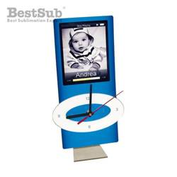Standing MDF clock for sublimation - iPod