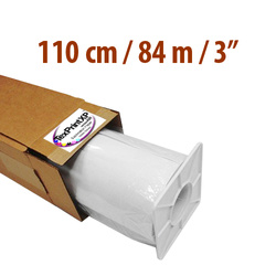 "Sublimation paper TexPrint­XP-HR roll 110 cm x 84 m thimble 3"" Sublimation Thermal Transfer"