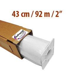 "Sublimation paper TexPrint­XP-HR roll 43 cm x 92 m thimble 2"" Sublimation Thermal Transfer"