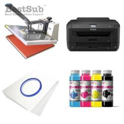 T-shirt Printing Kit Epson WF-7210DTW + SB6D Sublimation Thermal Transfer