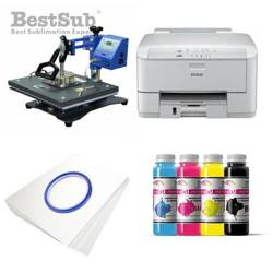 T-shirt Printing Kit Epson WF3010DW + SD71 Sublimation Thermal Transfer