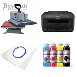 T-shirt Printing Kit Epson WF7110DTW + SY99-45-2 Sublimation Thermal Transfer
