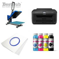 T-shirt printing kit Epson WF-7210DTW + PLUS-PB4050F Sublimation Thermal Transfer