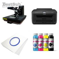 T-shirt printing kit Epson WF-7210DTW + SB3C2 Sublimation Thermal Transfer