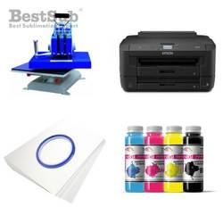 T-shirt printing kit Epson WF-7210DTW + SY88-46-2 Sublimation Thermal Transfer