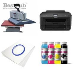 T-shirt printing kit Epson WF-7210DTW + SY99-46-2 Sublimation Thermal Transfer