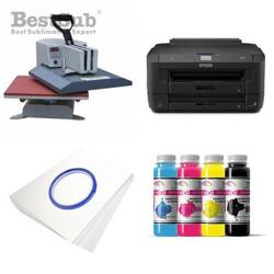 T-shirt printing kit Epson WF-7210DTW + ZESSY99 Sublimation Thermal Transfer