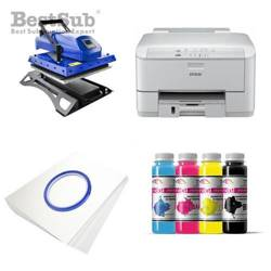 T-shirt printing kit Epson WF3010DW + MATE-Y38 Sublimation Thermal Transfer