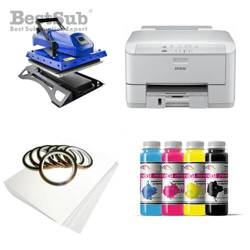 T-shirt printing kit Epson WF3010DW + MATE-Y45 Sublimation Thermal Transfer