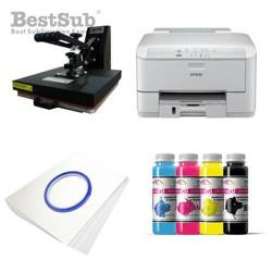 T-shirt printing kit Epson WF3010DW + SD73 Sublimation Thermal Transfer