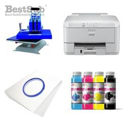 T-shirt printing kit Epson WF3010DW + SY88-45-2 Sublimation Thermal Transfer
