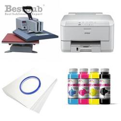 T-shirt printing kit Epson WF3010DW + SY99-45-2 Sublimation Thermal Transfer