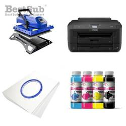T-shirt printing kit Epson WF7110DTW + MATE-Y38 Sublimation Thermal Transfer