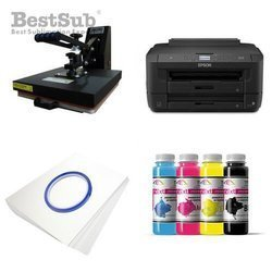 T-shirt printing kit Epson WF7110DTW + SB3C3 Sublimation Thermal Transfer