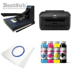 T-shirt printing kit Epson WF7110DTW + SB3D3 Sublimation Thermal Transfer