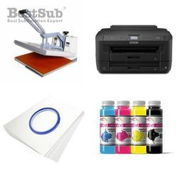 T-shirt printing kit Epson WF7110DTW + SB5A-2 Sublimation Thermal Transfer