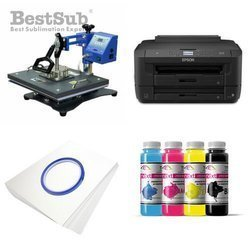T-shirt printing kit Epson WF7110DTW + SD71 Sublimation Thermal Transfer