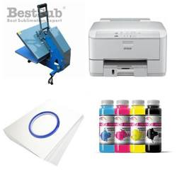 T-shirt printing kit Epson WP-4095DN + JTSB3H-2 Sublimation Thermal Transfer