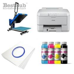 T-shirt printing kit Epson WP-4095DN + PLUS-PB4050F Sublimation Thermal Transfer