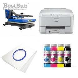T-shirt printing kit Epson WP-4095DN + PLUS-PB4060D Sublimation Thermal Transfer
