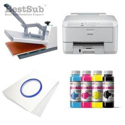 T-shirt printing kit Epson WP-4095DN + SB3A Sublimation Thermal Transfer
