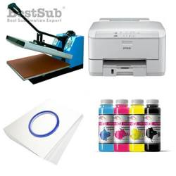 T-shirt printing kit Epson WP-4095DN + SB3B Sublimation Thermal Transfer